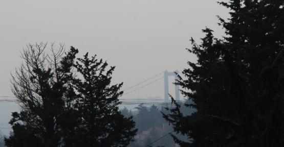 İstanbul'da sis manzaraları