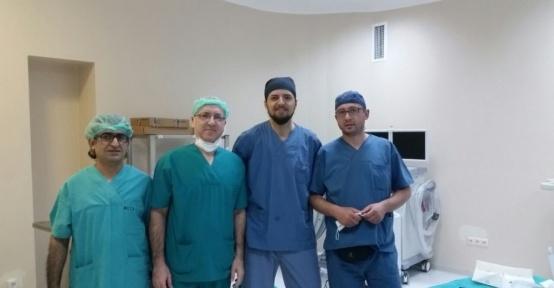 İznik Devlet Hastanesinde başarılı diz protezi