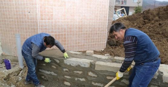 Kabaçınar Camii artık güvende
