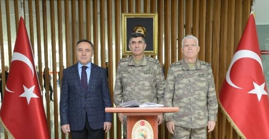 Kara Kuvvetleri ve Ege Ordu Komutanından Denizli'ye ziyaret