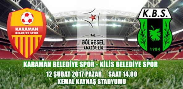 Karaman Belediye Spor 3 puan almak istiyor
