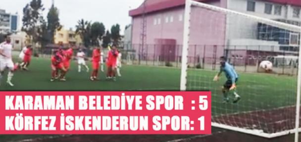 Karaman Belediye Spor, puanı 31' e yükseltti