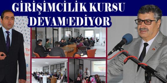 Karaman'da girişimciler kursta