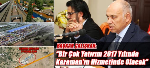 Karaman'da Şubat Ayı meclis toplantısı yapıldı