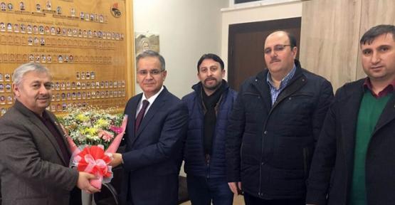 Karaman Valisi Tapsız Sivil Toplum Kuruluşlarını Ziyaret Etti