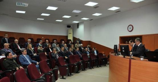 Karaman'da il idare şube başkanları toplantısı