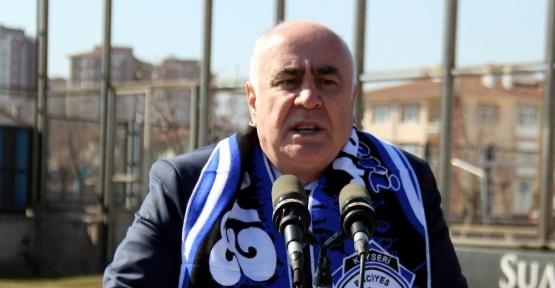 Kayseri Erciyesspor'un başkanı Külahçı oldu