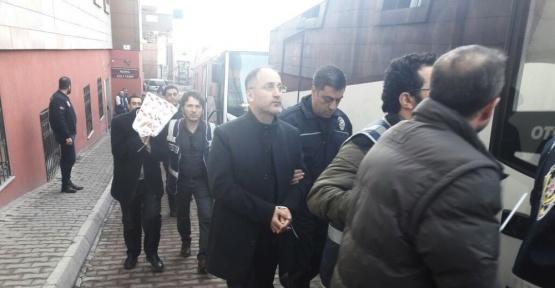 Kayseri'de 20 polis mahkemeye sevk edildi