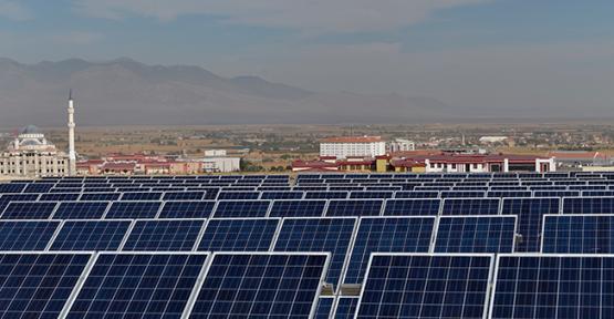 Kmü'den güzel bir güneş enerjisi projesi