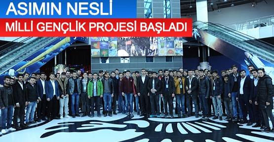Konya' da Asımın Nesli Milli Gençlik Projesi