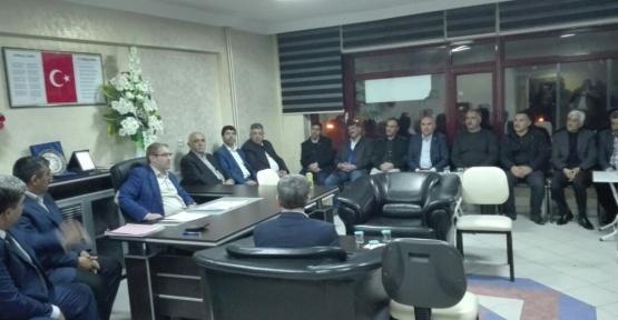 Kovancılar'da iş adamlarıyla istişare toplantısı