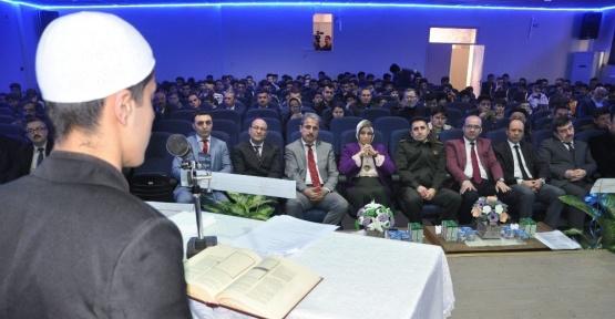 Kur'an-ı Kerim'i en güzel okumak için yarıştılar