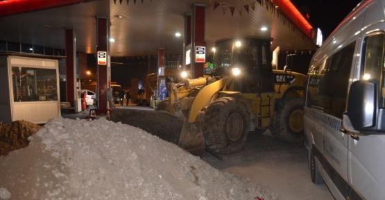 Malatya'da eski Köy Garajı yıkıldı