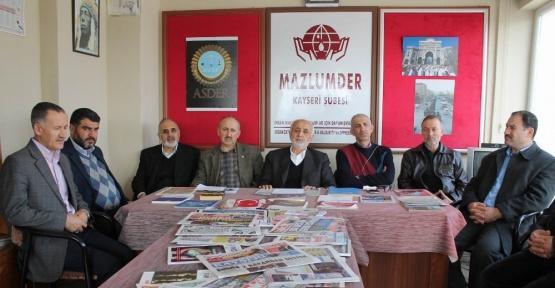 Mazlumder Kayseri Şube Başkanı Ahmet Taş: