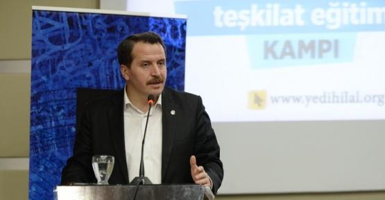 """Memur-Sen Genel Başkanı Yalçın: """"Erbakan demek istikamet ve özgüven demektir"""""""