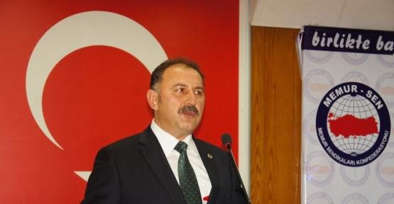 Memur-Sen Kastamonu İl Temsilcisi Mehmet Öz: