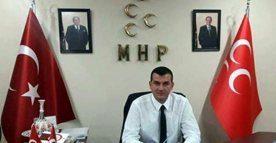 MHP Aydın İl Burak Pehlivan'dan bayrak tepkisi