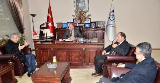MHP Genel Başkan Yardımcısı Adan'dan ETSO'ya ziyaret