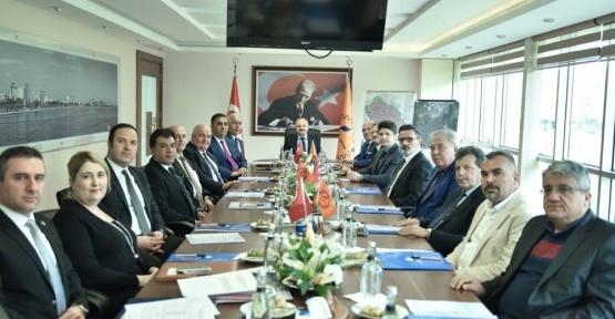 MTOSB Müteşebbis Heyeti, Vali Çakacak başkanlığında toplandı