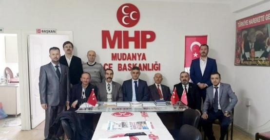 Mudanya MHP'de görev değişimi