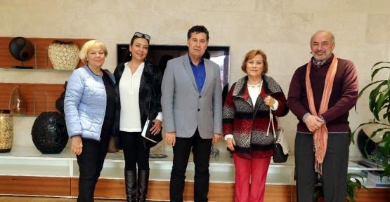 Mülkiyeliler Birliğinden Başkan Kocadon'a ziyaret