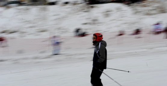 (Özel Haber) Kar var, kayan yok