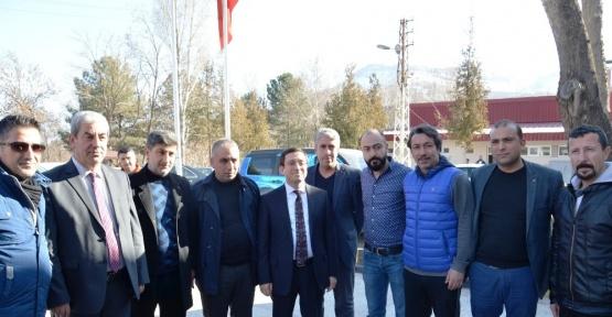 Rektör Kızılay'dan Evkur Yeni Malatyaspor'a moral desteği