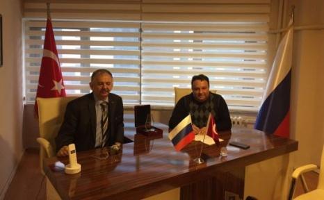 İzmir Fahri Konsolosu Türk- Rus İlişkilerini Değerlendirdi