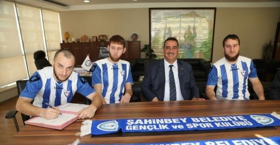 Şahinbey Ampute Futbol takımına 3 Rus oyuncu