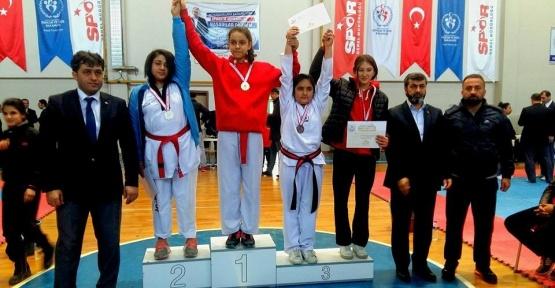 Şahinbey Taekwondo takımı, final müsabakalarında 2 altın madalya kazandı