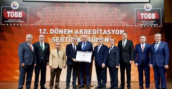 Salihli TSO, akreditasyon sertifikasını yeniledi