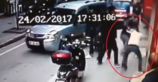 Samsun'da müşteri ve iş yeri çalışanı kavgası