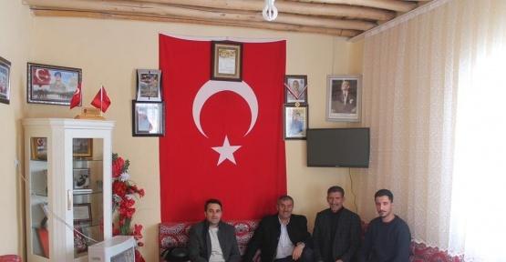 Saray Belediye Başkan Vekili  Bayır'dan şehit ailelerine ziyaret