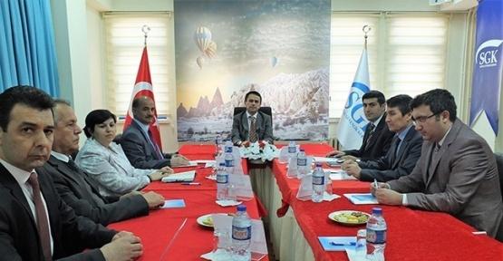 SGK İl Müdürlüğünde istihdam toplantısı yapıldı
