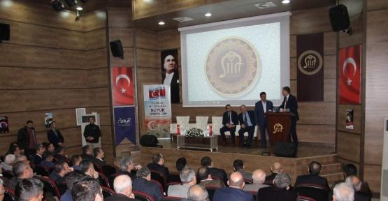 Siirt'te 'Cazibe Merkezleri' toplantısı yapıldı