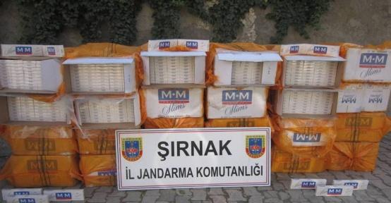 Şırnak'ta kaçağa 6 milyon 417 bin TL'lik darbe