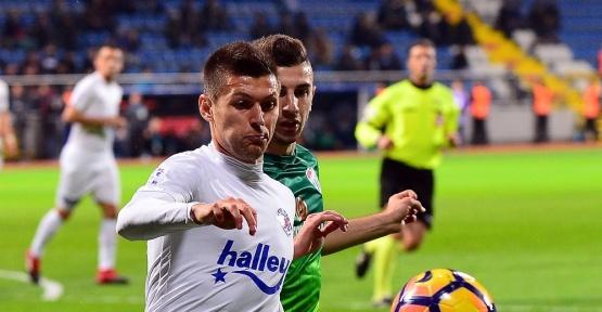 Süper Lig 22. hafta Maçın ilk yarısı golsüz berabere