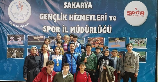 Taşköprülü Karateciler Sakarya'da madalyalara ambargo koydu