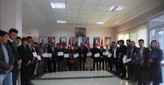 TİKA'dan Afganistan medya kurumlarına Türkçe kursu