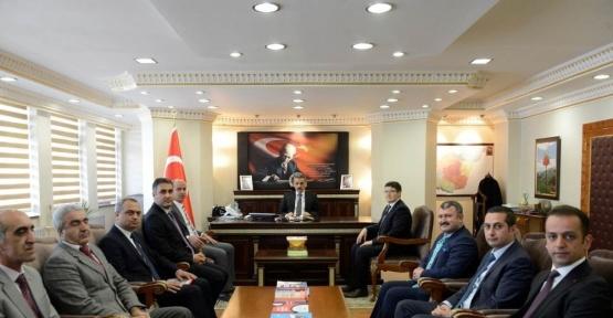 Tunceli Valisine Vergi Haftası ziyareti