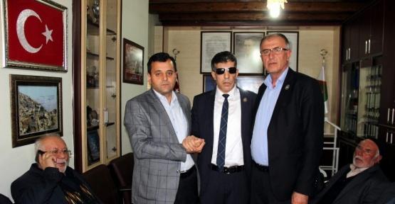 Türkiye Harp Malulü Gaziler Şehit Dul ve Yetimleri Derneği Kayseri Şubesinde devir teslim