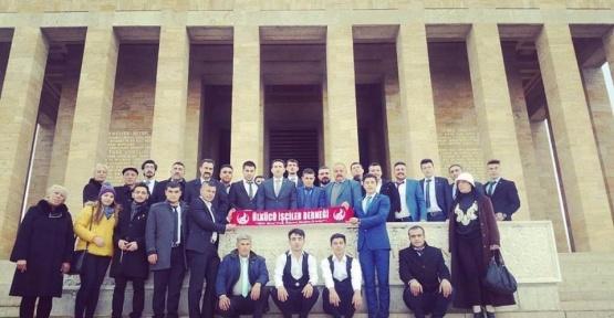 Ülkücü işçiler Ankara'da