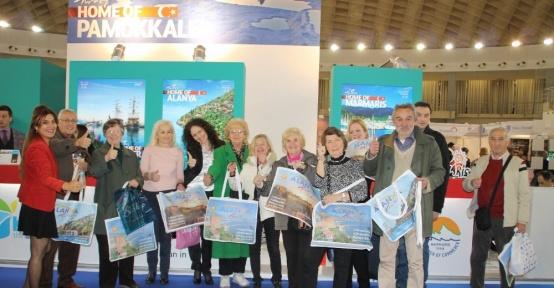 Uluslararası Belgrad Turizm Fuarı'nda Alanya tanıtımı yapıldı