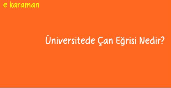 Üniversitede Çan Eğrisi Nedir?