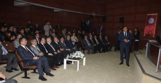 """Vali Süleyman Kamçı: """"Madde bağımlılığı ile mücadelemiz artarak devam edecek"""""""