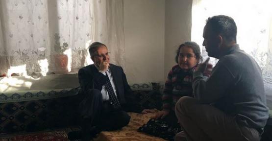 Vali Süleyman Tapsız#039;ın Ev Ziyaretleri Sürüyor
