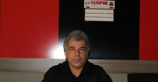 Van Büyükşehir Belediyespor Sportif Direktörü Turgay Karatekin: