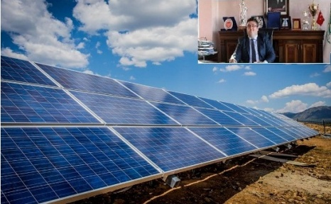 Yunak'da Güneş Enerjisi Paneli Projesi Devreye Girecek.
