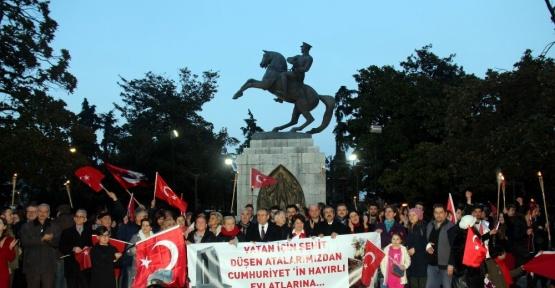 18 Mart Çanakkale Zaferi Fener Alayı Yürüyüşü