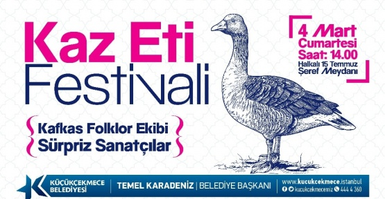 2'nci Kaz Eti Festivali başlıyor